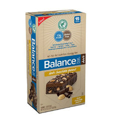 Balance Bar - Dark Chocolate Peanut - 1.76 oz - Case of 15