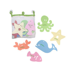 Green Sprouts Bath Toy - Sea Friends - 5 Piece Set