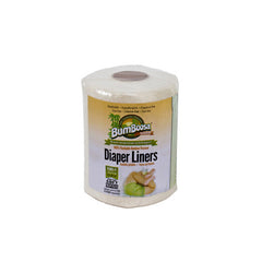 Bum Boosa Bamboo Diaper Liners - 100 Count