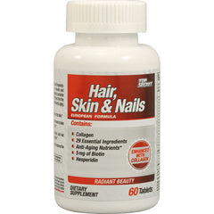 Top Secret Nutrition Hair, Skin and Nails - 60 Tablets