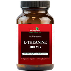 FutureBiotics L-Theanine - 100 mg - 60 Vegetarian Capsules