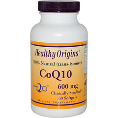 Healthy Origins CoQ10 - 600 mg - 60 Softgels