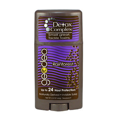 Geo-Deo Deodorant Stick - Natural Rainforest with Detox Complex - 2.3 oz