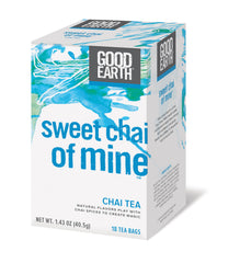 Good Earth Sweet Chai of Mine - Case of 6 - 18 Bags