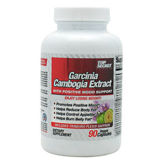 Top Secret Nutrition Garcinia Cambogia Extract with Positive Mood Support - 90 Vegetarian Capsules