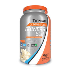 Twinlab Gainers 600 - Clean Series Vanilla - 3.2 lb