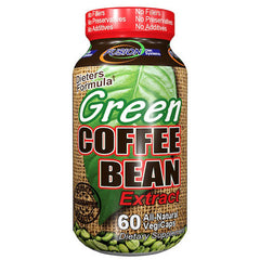 Fusion Diet Systems Green Coffee Bean Extract - 60 Vegetarian Capsules
