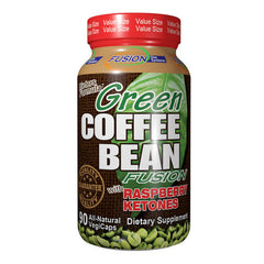 Fusion Diet Systems Green Coffee Bean Fusion with Raspberry Ketones - 90 Vegetarian Capsules