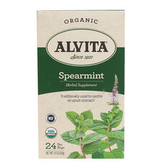 Alvita Tea - Organic Spearmint - 24 Bags