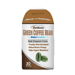Diet Works Water Booster - Green Coffee Bean Cappuccino - 2 oz