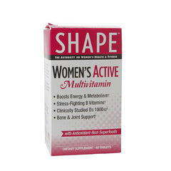 Shape Womens Active Multi Vitamin - 60 Capsules