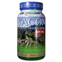 Fusion Diet Systems Yacon Root Extract - 60 Vegetarian Capsules