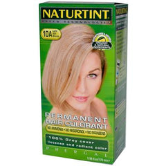 Naturtint Permanent Hair Color 10A Light Ash Blonde - 5.45 fl oz
