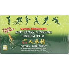 Prince of Peace Red Panax Ginseng Extractum Ultra Strength - 30 Bottles