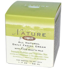 Canus All Natural Daily Facial Cream - 1.7 oz