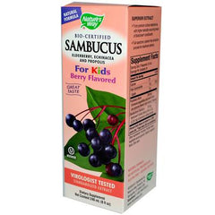 Nature's Way Sambucus Kids Syrup Berry - 8 fl oz