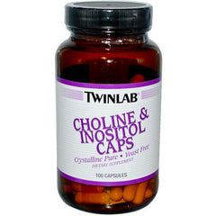 Twinlab Choline and Inositol Caps - 100 Capsules