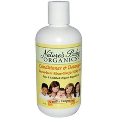 Nature's Baby Organics Conditioner and Detangler Vanilla Tangerine - 8 fl oz