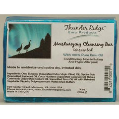 Thunder Ridge Emu Products Emu Oil Bar Soap Unscented - 4 oz