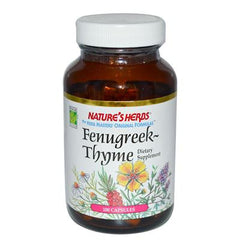 Nature's Herbs Fenugreek Thyme Combo - 505 mg - 100 Capsules