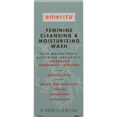 Emerita Feminine Cleansing and Moisturizing Wash - 4 fl oz