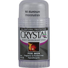 Crystal Body Deodorant Stick for Men - 4.25 oz