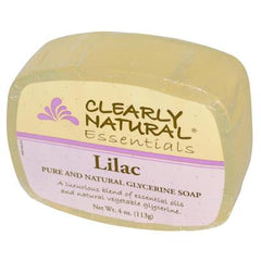 Clearly Natural Glycerine Bar Soap Lilac - 4 oz