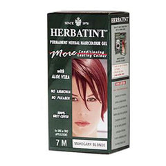 Herbatint Permanent Herbal Haircolour Gel 7M Mahogany Blonde - 135 mL