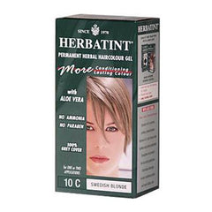 Herbatint Haircolor Kit Ash Swedish Blonde 10C - 1 Kit