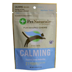 Pet Naturals of Vermont Calming For Cats Chicken Liver - 21 Soft Chews