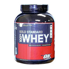 Optimum Nutrition Gold Standard 100% Whey Vanilla Ice Cream - 5 lbs