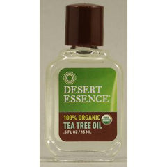 Desert Essence Organic Tea Tree Oil - 0.5 fl oz