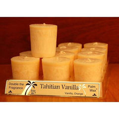Aloha Bay Votive Candle - Tahitian Vanilla - Case of 12 - 2 oz