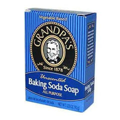 Grandpa's Baking Soda Bar Soap Unscented - 3.25 oz