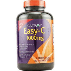 Natrol Easy-C with Bioflavonoids - 1000 mg - 180 Vegetarian Tablets