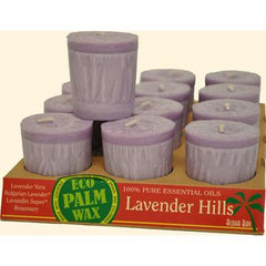 Aloha Bay Votive Eco Palm Wax Candle - Lavender Hills - Case of 12 - 2 oz