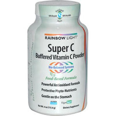 Rainbow Light Super C Buffered Vitamin C Powder - 4 oz