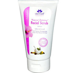 Derma E Tropical Solutions Facial Scrub - 4 fl oz