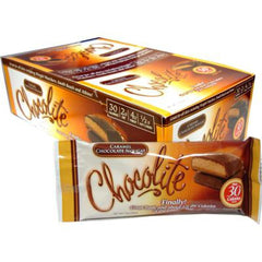 Chocolite Bar - Chocolate Peanut Chews - Case of 16 - 24 Grams