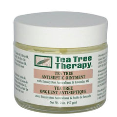 Tea Tree Therapy Antiseptic Ointment Eucalyptus Australiana and Lavender Oil - 2 oz
