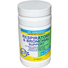 Dr. Venessa's Respiratory and Bronchial Support - 60 Tablets