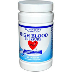 Dr. Venessa's Formulas High Blood Pressure - 60 Tablets
