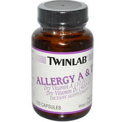 Twinlab Allergy A and D - 100 Capsules