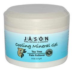 Jason Cooling Mineral Gel Tea Tree Pain Reliever - 8 oz