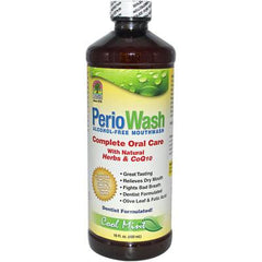 Nature's Answer PerioWash Mouthwash Alcohol-Free Cool Mint - 16 fl oz