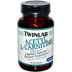 Twinlab Acetyl L-Carnitine - 500 mg - 30 Capsules