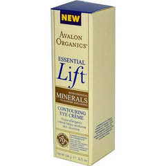 Avalon Organics Essential Lift Contouring Eye Creme - 0.5 oz