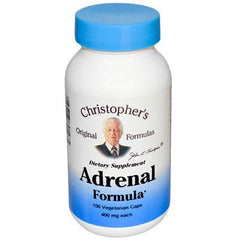 Dr. Christopher's Formulas Adrenal Formula - 400 mg - 100 Caps