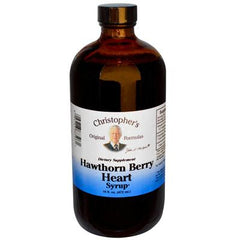 Christopher's Hawthorn Berry Heart Syrup - 16 fl oz