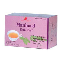 Health King Manhood Herb Tea - 20 Tea Bags